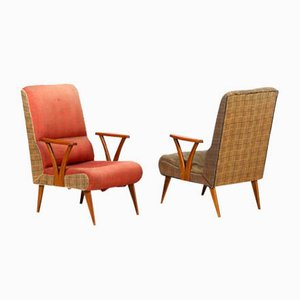 Lounge Chairs by Pier Luigi Colli, 1950s, Set of 2