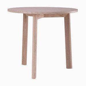 Runder Galta Dreibein Tisch aus Eschenholz von SCMP Design Office