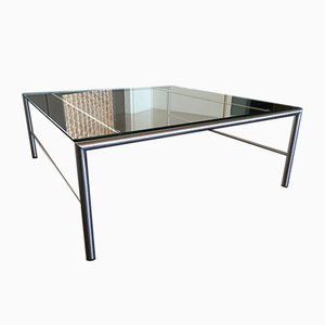 Stainless Steel Coffee Table by Martin Visser for t Spectrum, 1980s