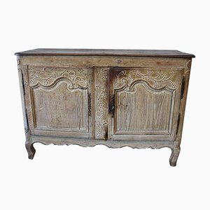 18th Century Baroque Style French Floral Wooden Commode