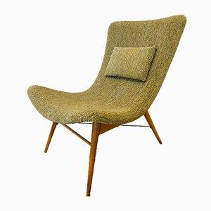 Banana TV Chair by Miroslav Navrátil for Cesky Nabytek, 1960s