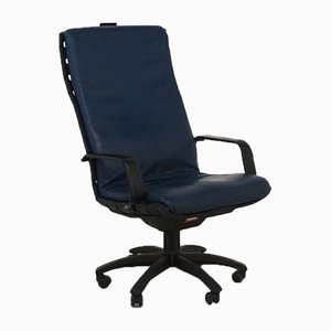 Blue Antropovarius Desk Chair by Porsche for Poltrona Frau, 1990s
