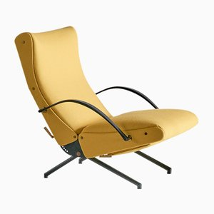 Italian Model P40 Lounge Chair by Osvaldo Borsani for Tecno, 1950s
