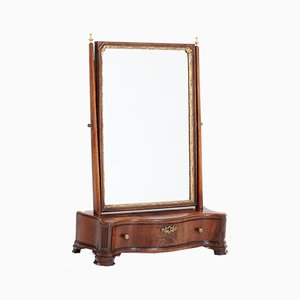 Biedermeier Dutch Mahogany Table Mirror, 1830s