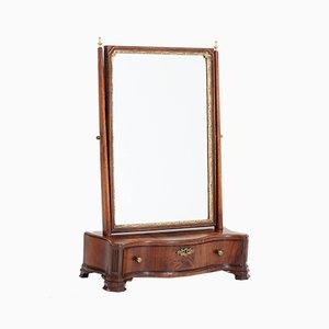 Miroir de Table Biedermeier en Acajou, Pays-Bas, 1830s