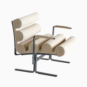Italienischer Modell Roll Armlehnstuhl von Joe Colombo für Luigi Sormani, 1960er