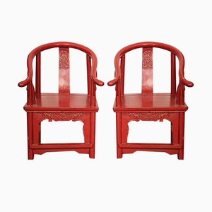 Asian Childrens Chairs, Set of 2