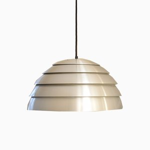 Mid-Century Swedish Chrome Pendant Lamp by Hans-Agne Jakobsson for Markaryd, 1960s