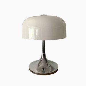 Lampe de Bureau Medusa Mushroom Mid-Century par Luigi Massoni pour Guzzini