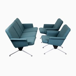 Living Room Set by André Cordemeyer / Dick Cordemeijer for Gispen, 1960s, Set of 3