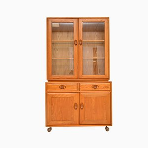 Vintage Solid Elm Cabinet from Ercol, 1970s