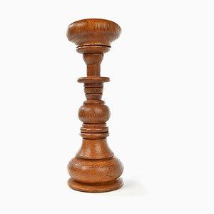 Perückenhalter aus Holz