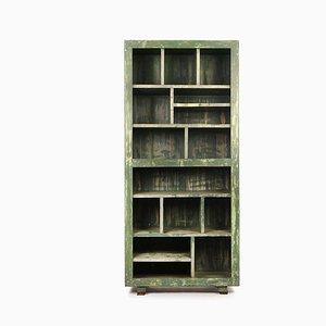 Hölzerne Werkstattmöbel mit 15 Schließfächern