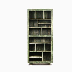 Wooden Workshop Furniture with 15 Lockers