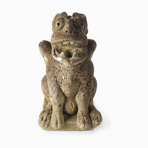 Sculpture Gargouille en Ciment