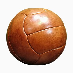 Leather Medicine Ball, 1950s