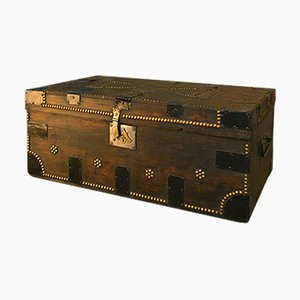 Studded Wooden Box