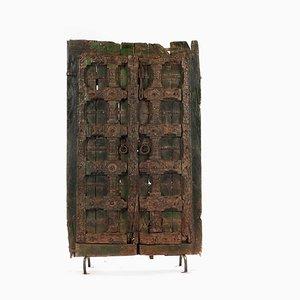 Holztür auf Stahlbasis