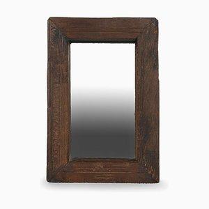 Kleiner Spiegel mit Holzrahmen