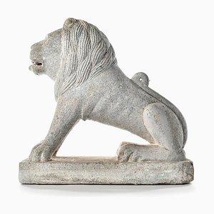 Scultura Lion in pietra