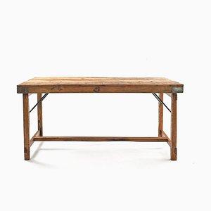 Klapptisch aus Holz