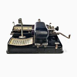 Heitere Schreibmaschine, 19. Jh