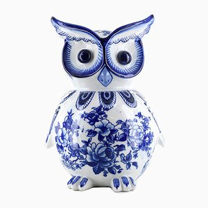Porcelain Owl Piggy Bank