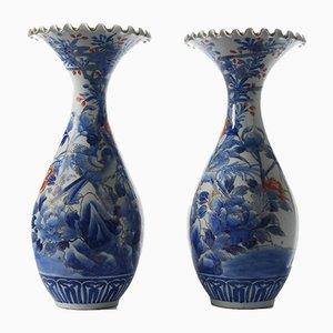 Chinesische Porzellanvasen, 2er Set