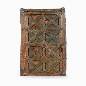 Shutter in Patinated Wood