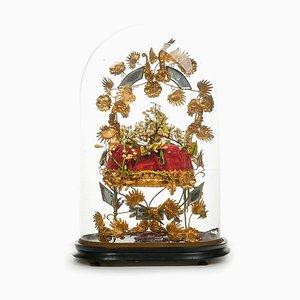 Wedding Globe Composition aus dem 19. Jahrhundert