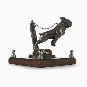 Bronze Hund Maskottchen Skulptur
