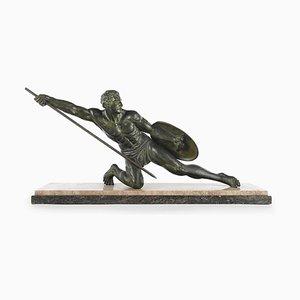 Gladiator Skulptur aus Bronze von S Melani