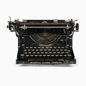 Underwood Typewriter, 1915