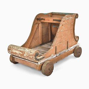 Vintage Holz Servierwagen
