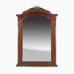 Spiegel mit Rahmen aus geschnitztem Holz