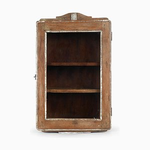 Small Wooden Display Cabinet