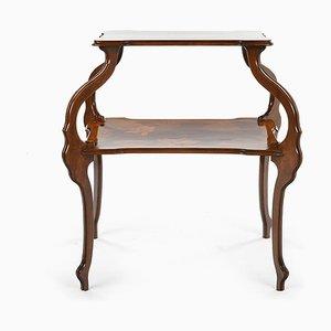 Jugendstil Tisch im Stile von Gallé