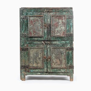 Patinated Wooden Cabinet