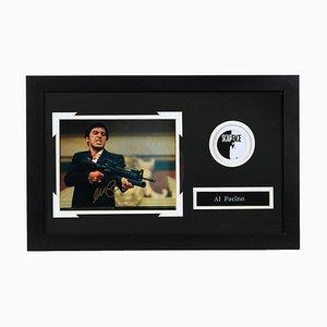 Eingerahmtes Autogramm von Al Pacino