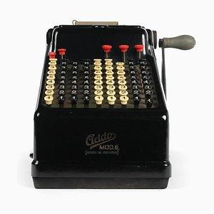 Modell 6 Taschenrechner von Addo, 1920er