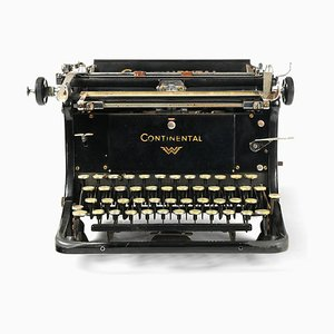 Typewriter from Continental, 1930s