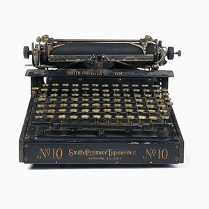 No. 10 Typewriter from Smith Premier, 1910s