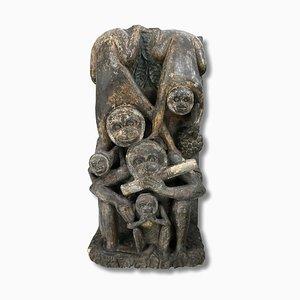 Skulptur von Steinaffen