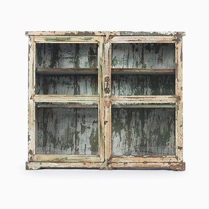 Patinated Wood Showcase