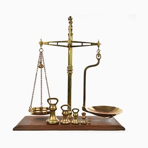 Hunt & Co English Brass Scale, 1920s