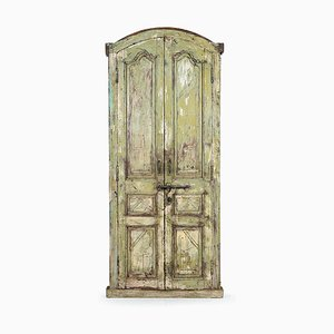 Door in Patinated Wood