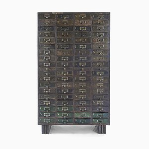 Metal Workshop Furniture with 72 Drawers
