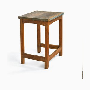Patinated Side Table