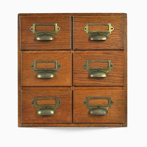 Small Apothecary's Office Cabinet
