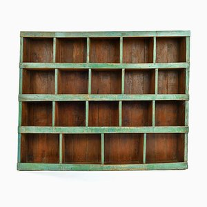 Wooden Workshop Furniture with 19 Compartments